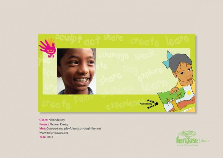 Nalandaway Banner Design and New Identity