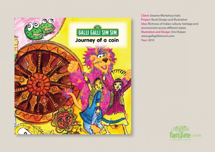 Journey of a coin Sesame Workshop India