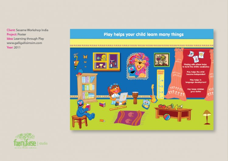 Sesame Workshop India Play Poster