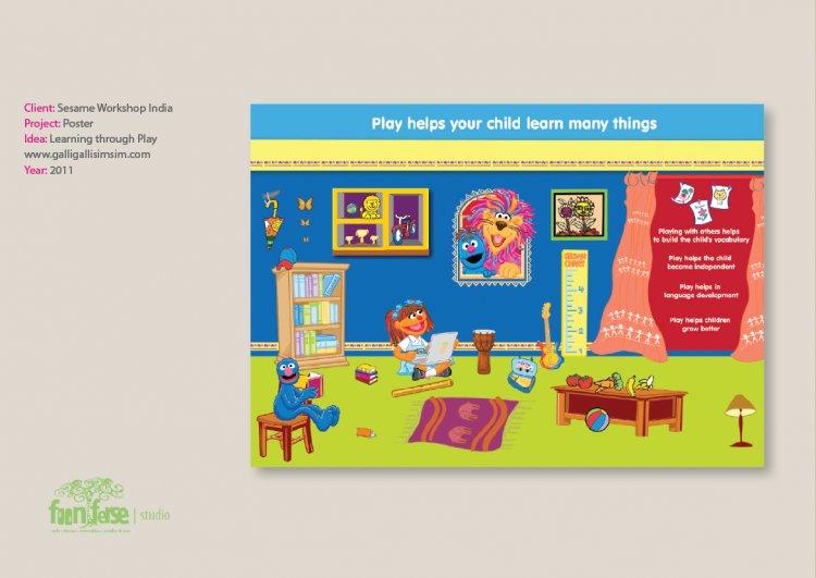 Sesame Workshop India Play Poster