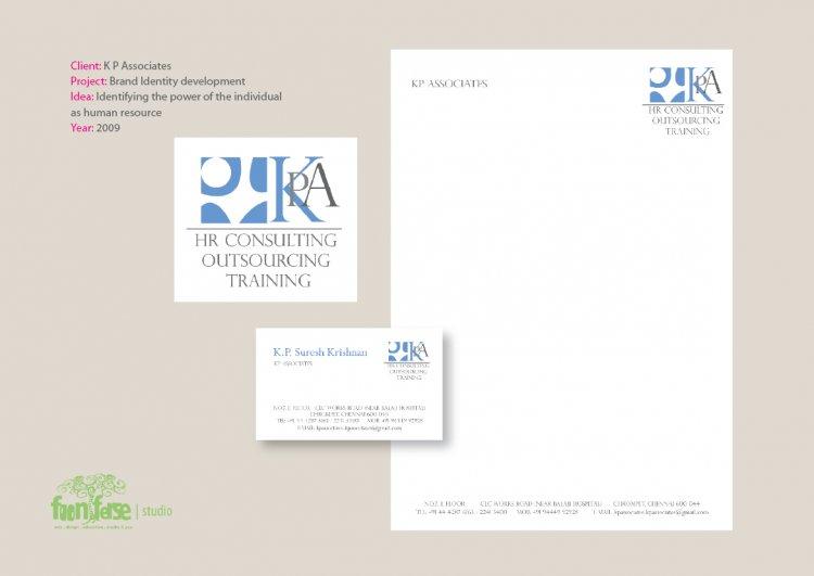K P Associates Brand Identity