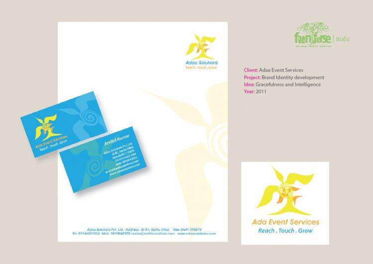 Adaa Event Services Brand Identity
