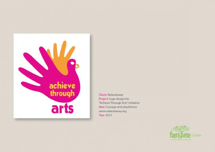 Nalandaway Acheive through the arts logo