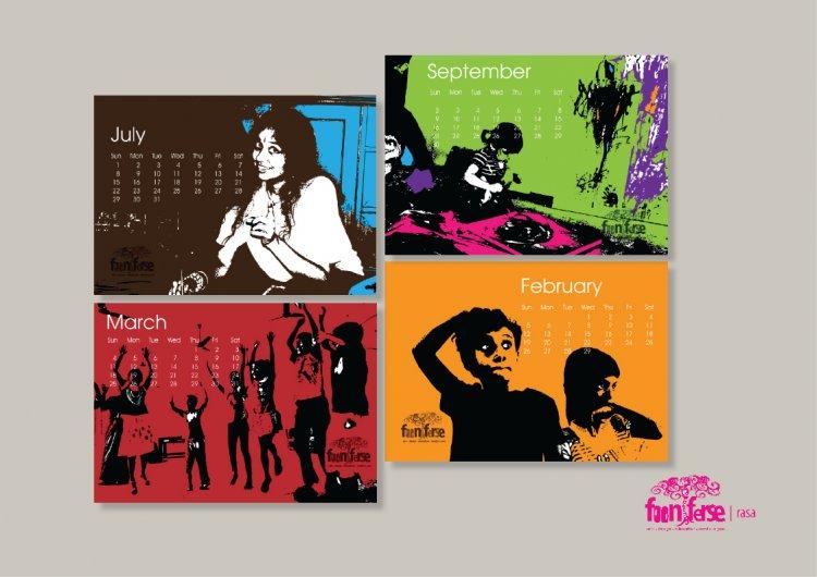 Fooniferse Calendar 2012