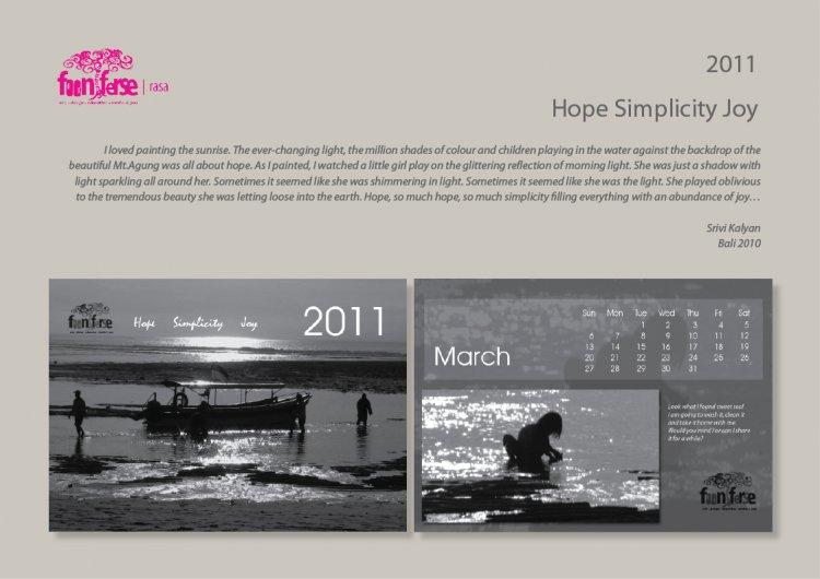 Fooniferse Calendar 2011