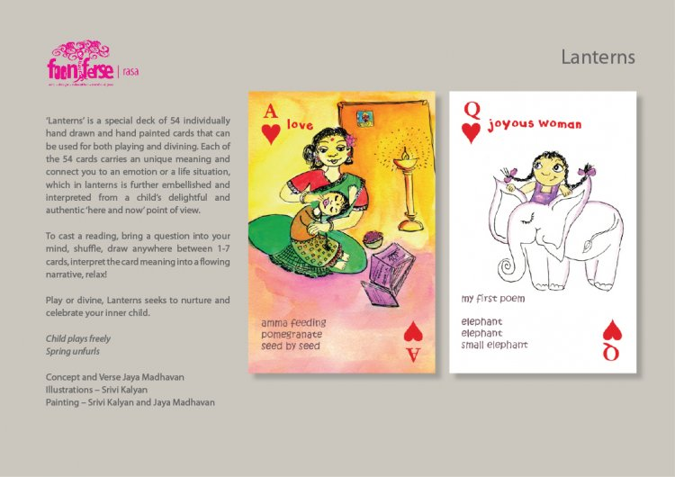 Lanterns - A collection of Tarot reading/playing cards