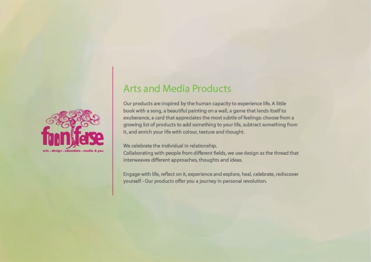 Arts and Media Products overview