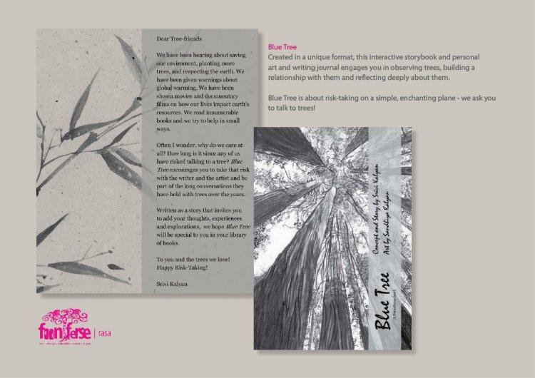 Blue Tree Activity book