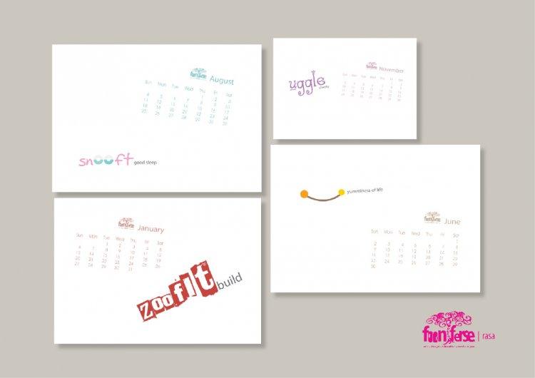 Fooniferse Calendar 2013